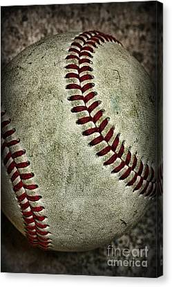 Baseball - A Retired Ball Canvas Print