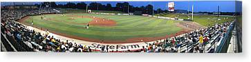 Baseball America's Past Time Canvas Print by Thomas Woolworth