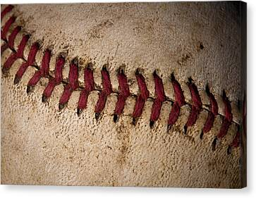 Canvas Print featuring the photograph Baseball - America's Pastime by David Patterson