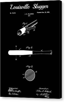 Bat Canvas Print - Baseball Bat by Dan Sproul