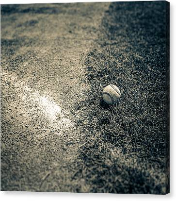 Baseball Field 1 Canvas Print by YoPedro