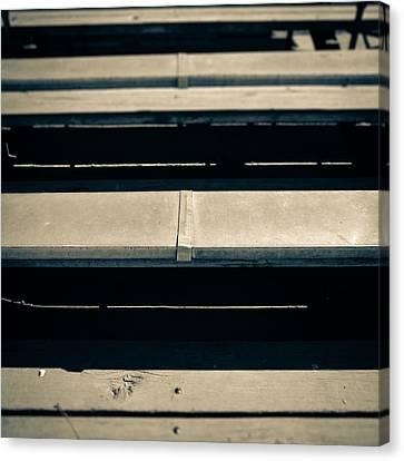 Baseball Field 5 Canvas Print by Yo Pedro