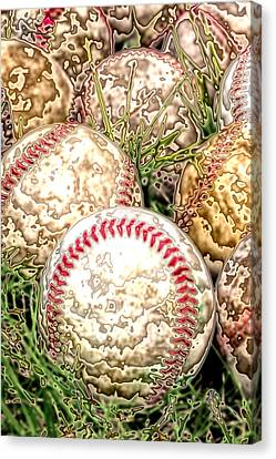 Baseball - Field Of Dreams Canvas Print by David Patterson
