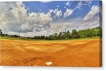 Baseball Field Canvas Print by Tim Buisman