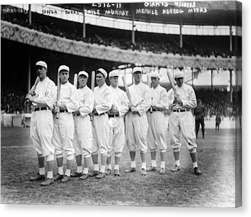 Baseball Giants, C1910 Canvas Print