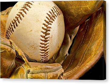 Baseball Has Been Very Good To Me Canvas Print by Don Schwartz
