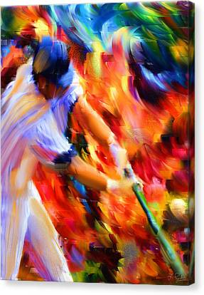 Baseball IIi Canvas Print by Lourry Legarde