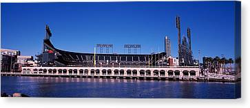 Baseball Park At The Waterfront, At&t Canvas Print by Panoramic Images