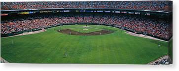 Baseball Stadium, San Francisco Canvas Print by Panoramic Images