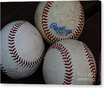 Baseball - The American Pastime Canvas Print by Paul Ward
