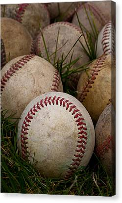 Baseballs Canvas Print by David Patterson
