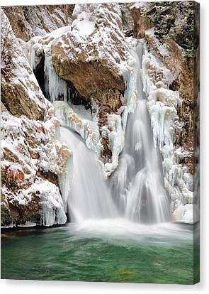 Bash Bish Falls Canvas Print by Bill Wakeley