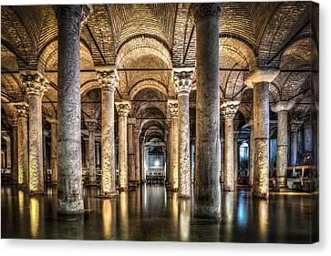 Basilica Cistern Istanbul Turkey Canvas Print