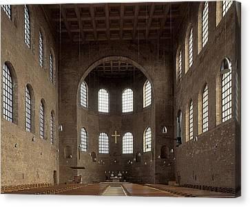 Palatina Canvas Print - Basilica Of Constantine. 3rd C. - 4th by Everett