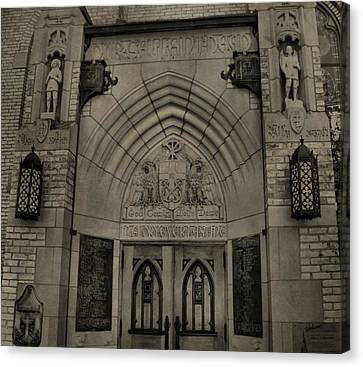 Basilica Of The Sacred Heart  Canvas Print