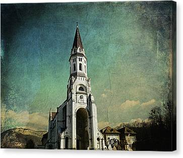 Basilica Of The Visitation Canvas Print by Barbara Orenya