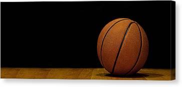 Basketball Panorama Canvas Print by Andrew Soundarajan