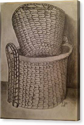Baskets Canvas Print by Irving Starr