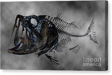 Bass Art Canvas Print