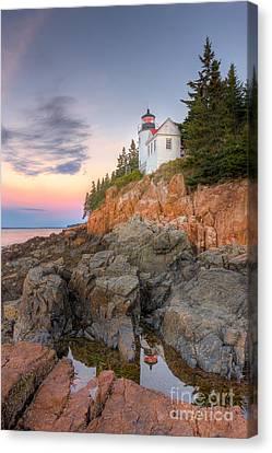 Bass Harbor Head Light V Canvas Print
