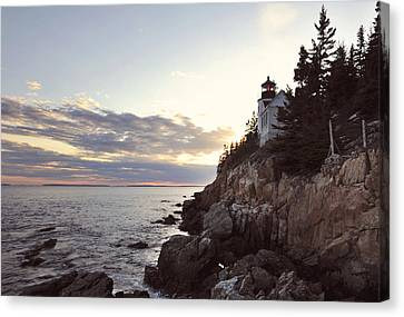 Bass Harbor Head Lighthouse Maine Canvas Print by Terry DeLuco