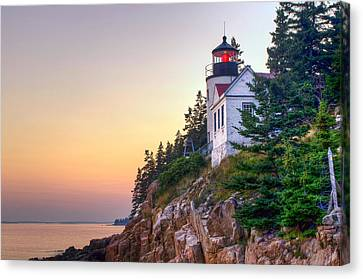 Bass Harbor Lighthouse Canvas Print by At Lands End Photography