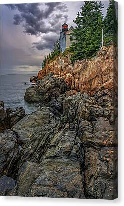 Bass Harbor Lighthouse Canvas Print by Rick Berk