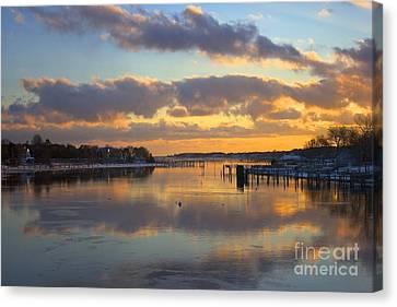 Bass River Reflection Canvas Print