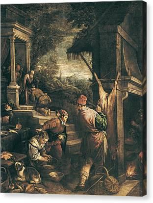 Bassano, Leandro 1557-1622. The Return Canvas Print by Everett