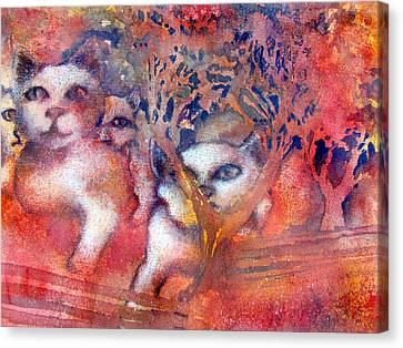 Feline Canvas Print - Bastet Dreams by James Huntley