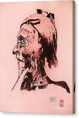 Basu Sennin Canvas Print by Roberto Prusso