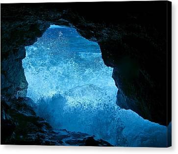 Bat Cave In Boracay Canvas Print