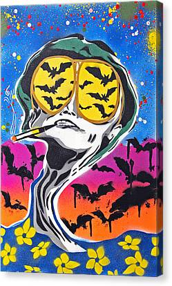 Bat Country Canvas Print by Victor Cavalera
