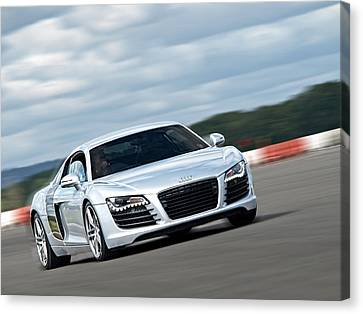 Bat Out Of Hell - Audi R8 Canvas Print