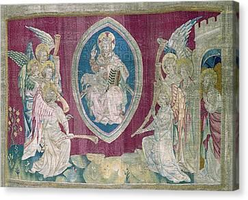 Agnus Canvas Print - Bataille, Nicolas 14th C.. Seventh Seal by Everett