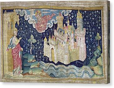 Bataille, Nicolas 14th C.. The New Canvas Print by Everett