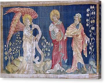 Bataille, Nicolas 14th C.. The Tears Canvas Print by Everett