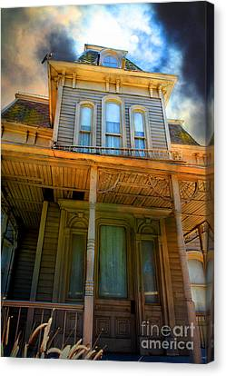 Haunted House Canvas Print - Bates Motel 5d28867 by Wingsdomain Art and Photography