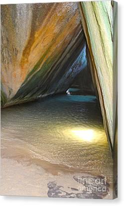 British Virgin Islands Canvas Print - Bath Cave by Carey Chen