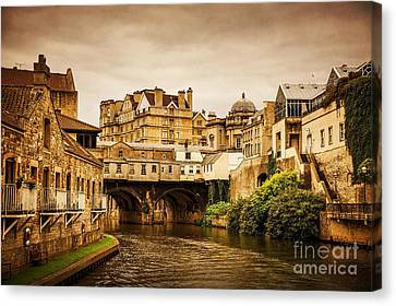 Bath Canvas Print by Svetlana Sewell