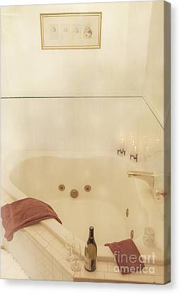 Old Home Place Canvas Print - Bath Time by Juli Scalzi