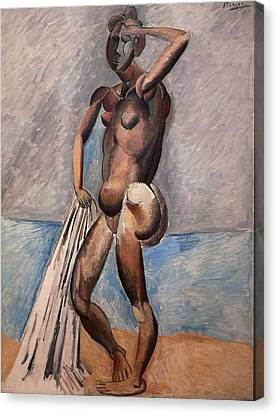 Bather Canvas Print by Pablo Picasso