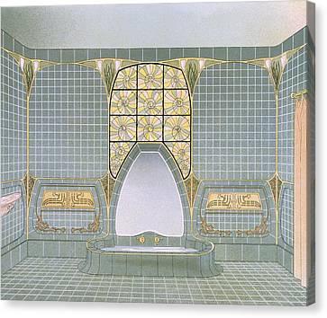 Bathroom Interior Designed By Henri Canvas Print by .