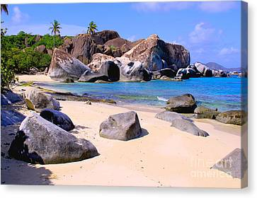 Baths Bvi Canvas Print