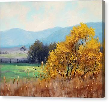 Bathurst Landscape Canvas Print by Graham Gercken