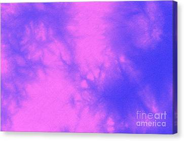 Batik In Purple And Pink Canvas Print by Kerstin Ivarsson
