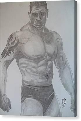 Batista Canvas Print by Justin Moore