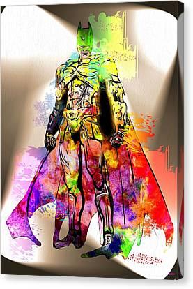 Batman Grunge Canvas Print