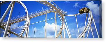 Batman The Escape Rollercoaster Canvas Print by Panoramic Images
