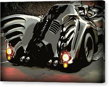Batmobile 2 Canvas Print by Cathy Smith